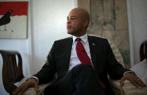 President Martelly of Haiti
