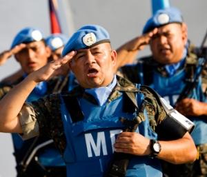MINUSTAH peacekeepers
