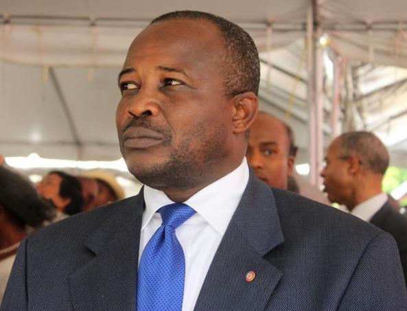 Senator Desras, the president of the Haitian Senate