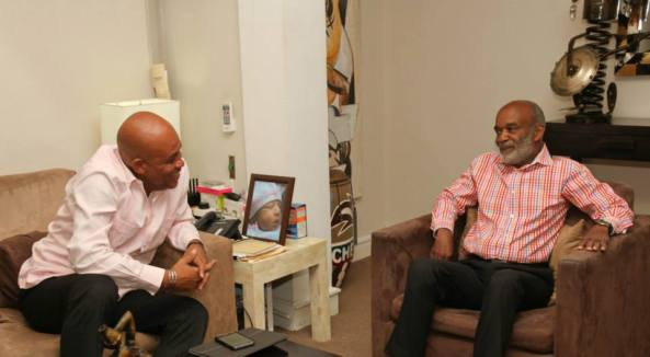 Martelly and Preval
